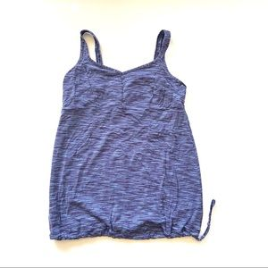 Lucy Lucytech Cinching Active Tank Top Blue L